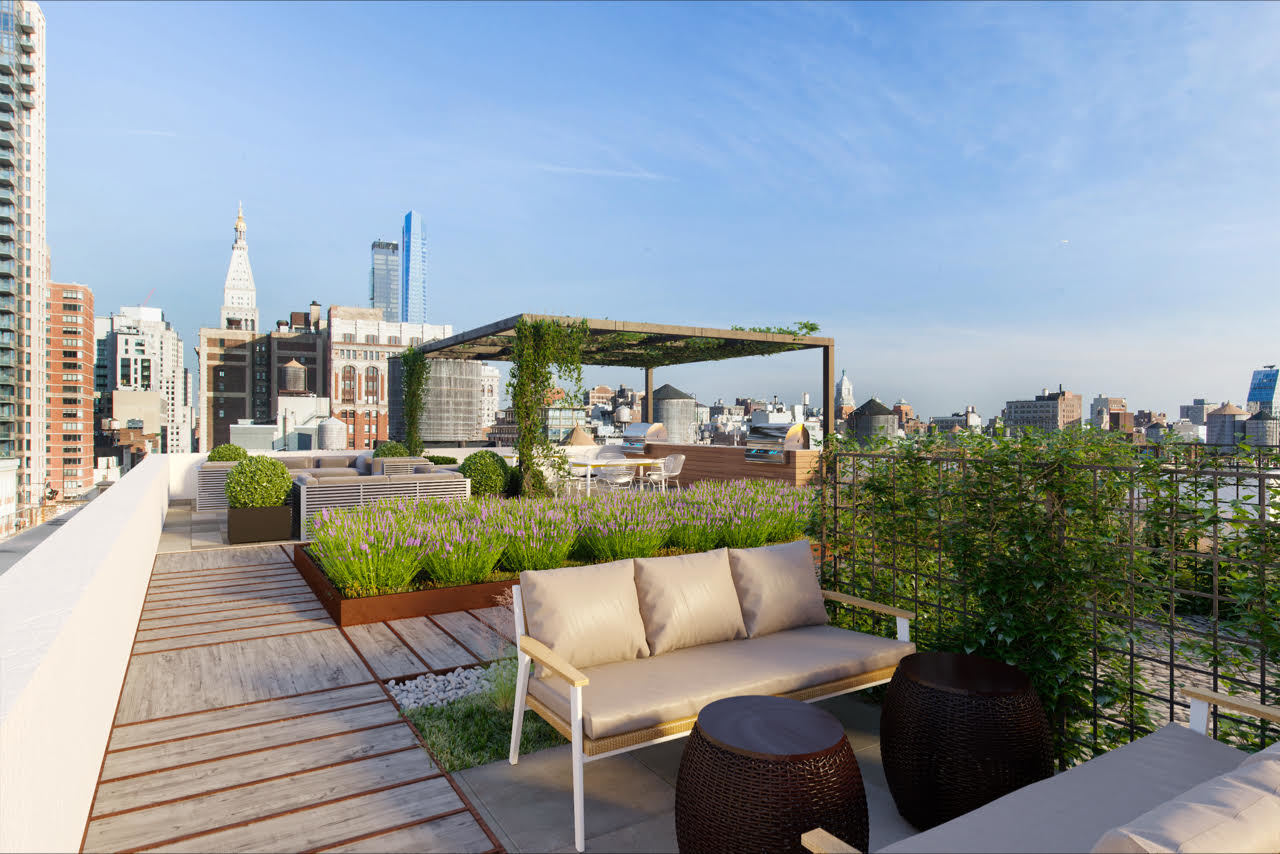 The Chelsea NYC – Roof Terrace Addition