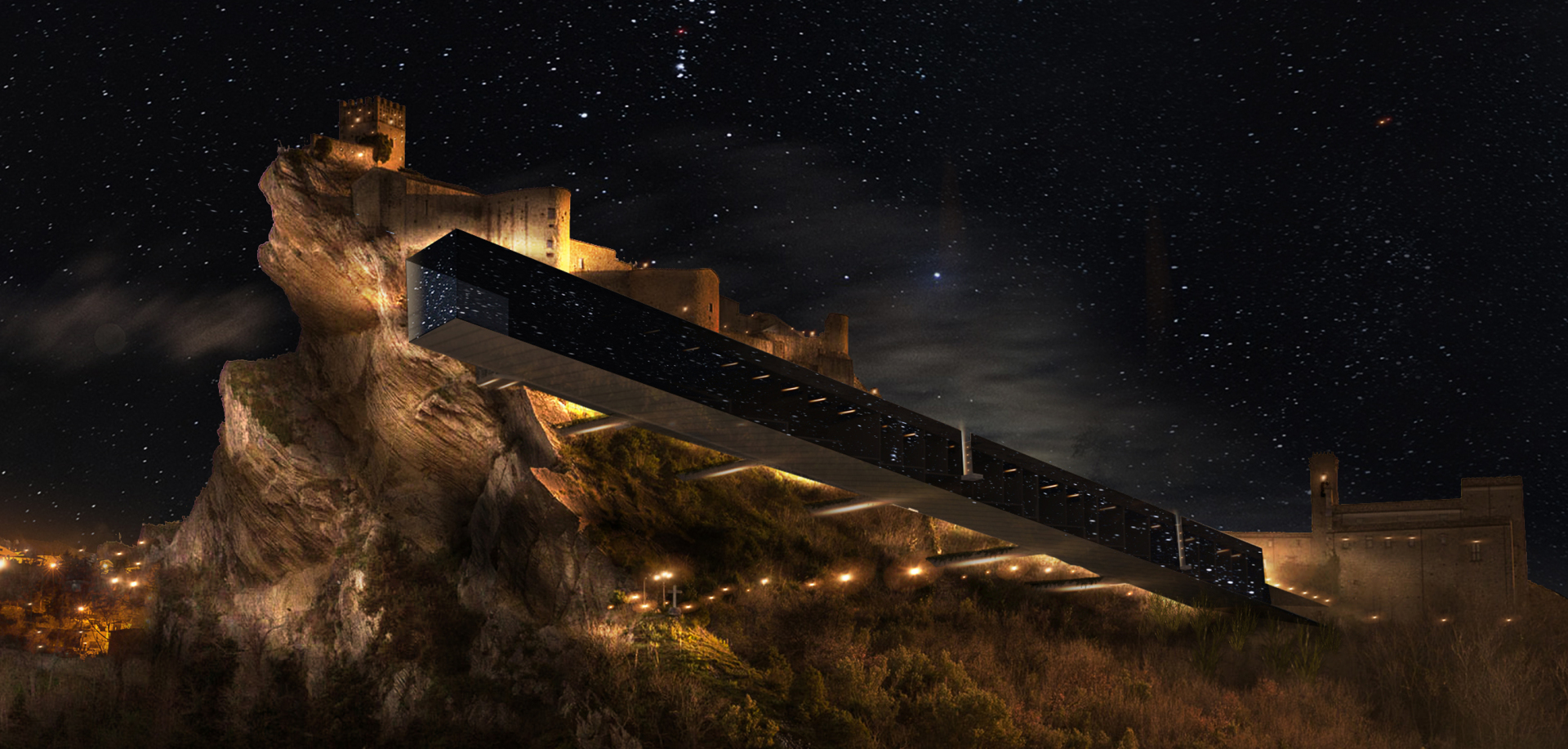 PRISM: The Observatory Houses, Roccascalegna, Italy